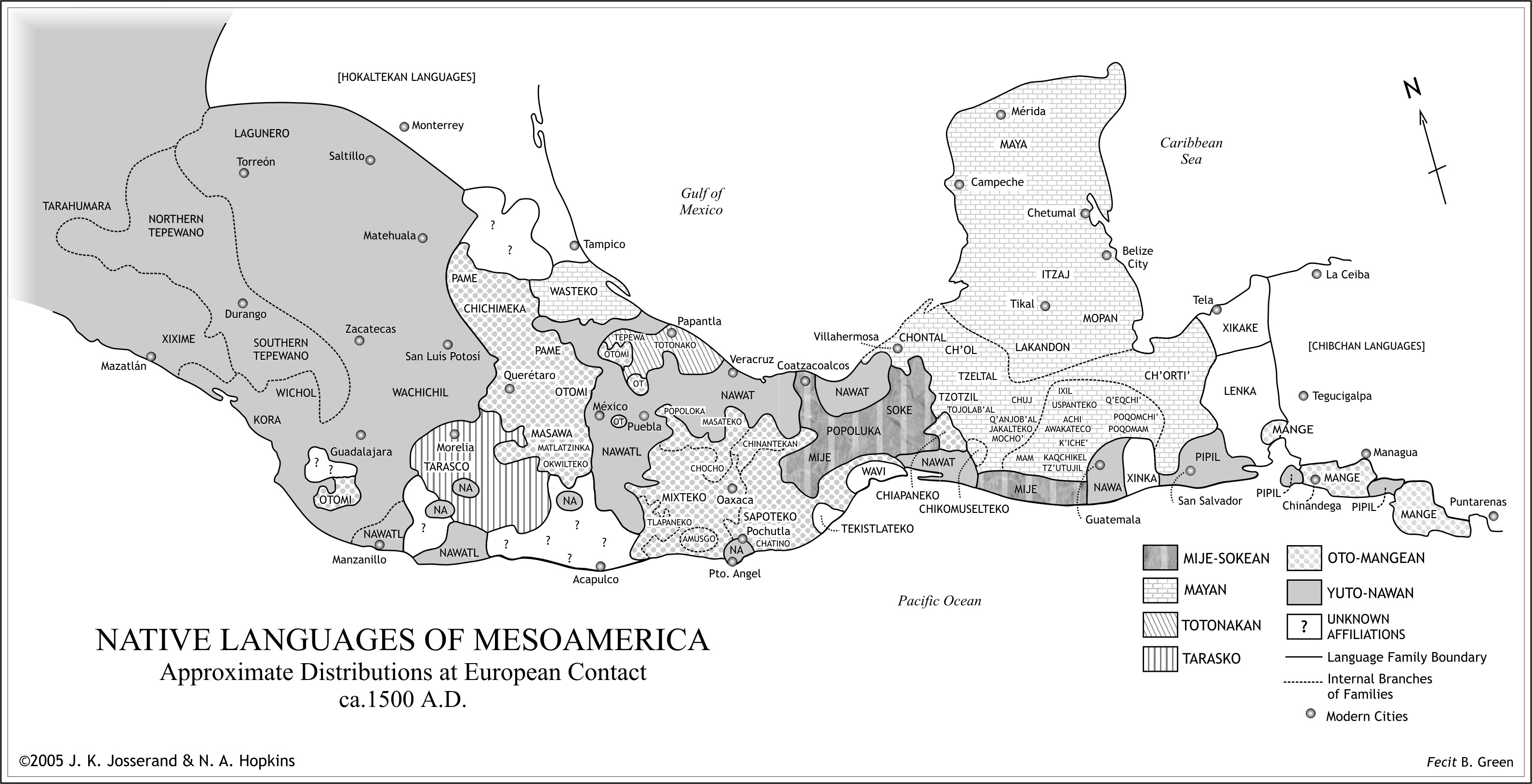 Click to enlarge image of Native Languages of Mesoamerica