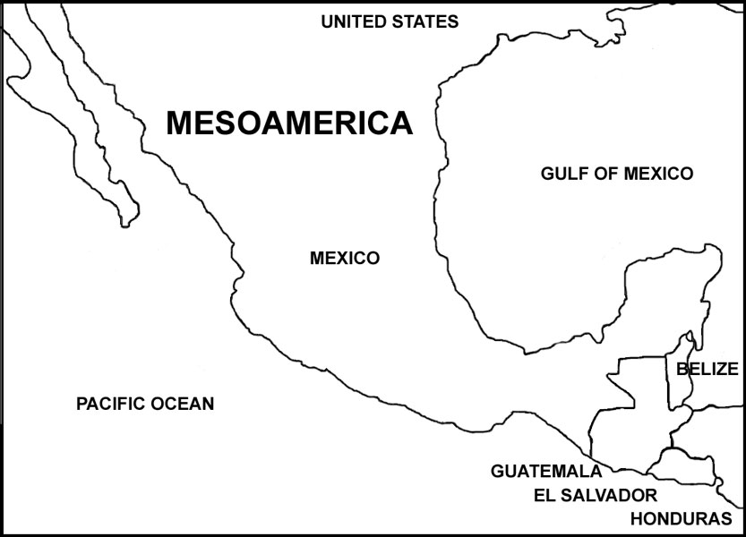 Famsi Five Countries Of Mesoamerica