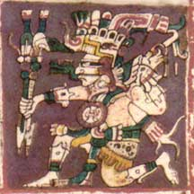 Image from the Dresden Codex.