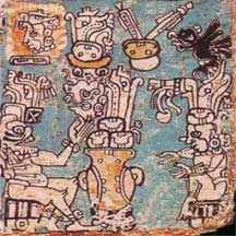 Image from the Madrid Codex.