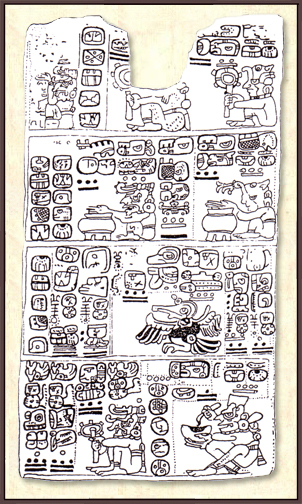An almanac page from the Madrid codex.