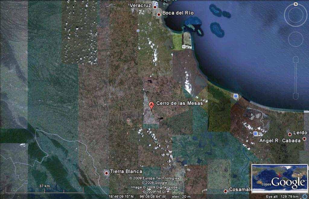 Google Map of El Zapotal