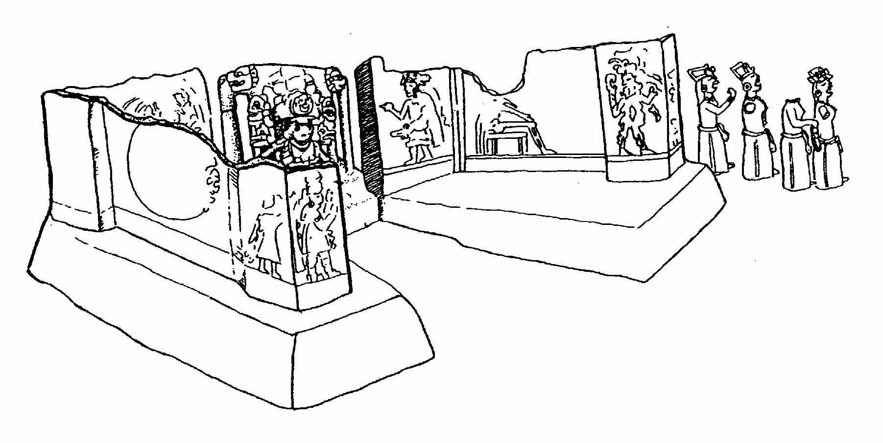 Wyllie's view of the shrine