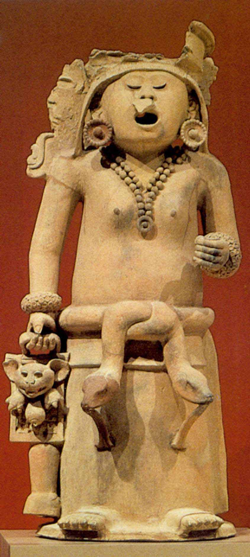 Cihuateteo sculpture