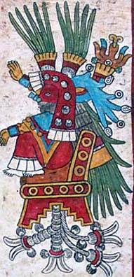 Imagen de la Página 26 del Códice Borbonicus