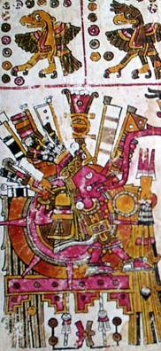 Imagen de la Página 71 del Códice Borgia