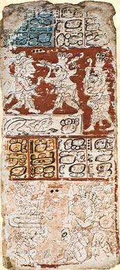 Imagen de la Página 60 del Códice Dresdensis