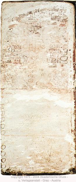 Página 3 del Códice Dresden