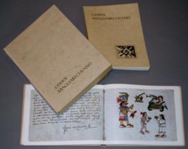 imagen del juego facsímil del Códice Magliabechiano