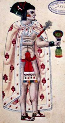 Imagen de la Porción de la Página 107r del Códice Ixtlilxochitl