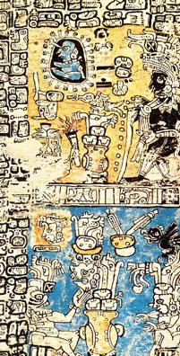 Imagen de la Página 34 del Códice Madrid