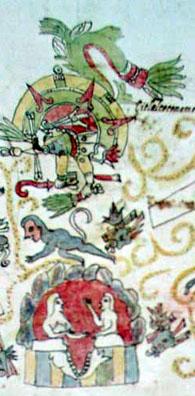 Imagen de la Página 6r del Códice Vaticanus 3738