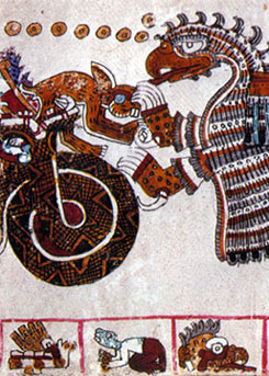 Imagen de la Página 27 del Códice Vaticanus 3773