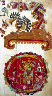 Imagen de la Porción de la Página 3 del Coacute;dice Vindobonensis
