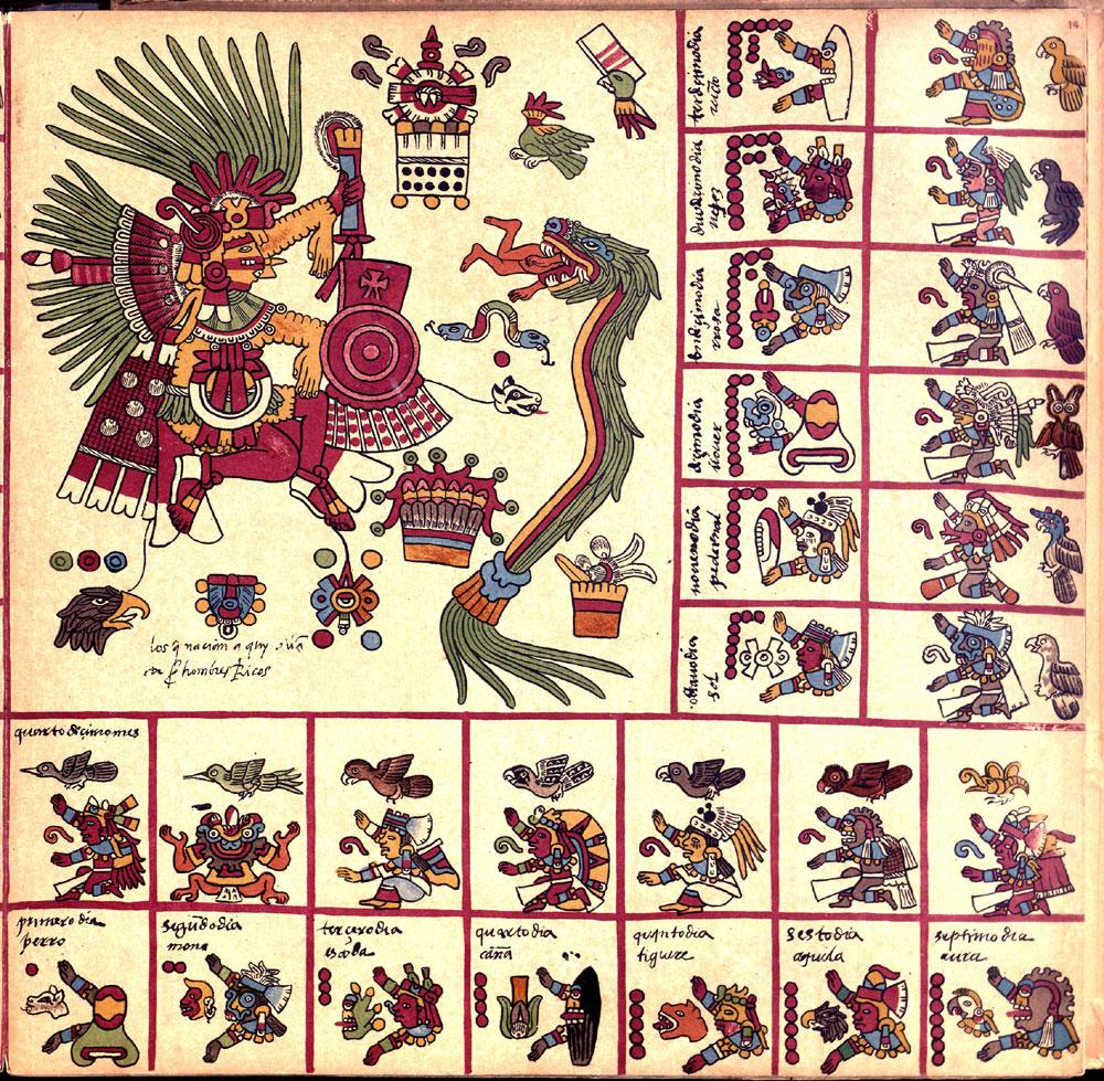 FAMSI - Bibliothéque Du Palais Bourbon - Codex Borbonicus