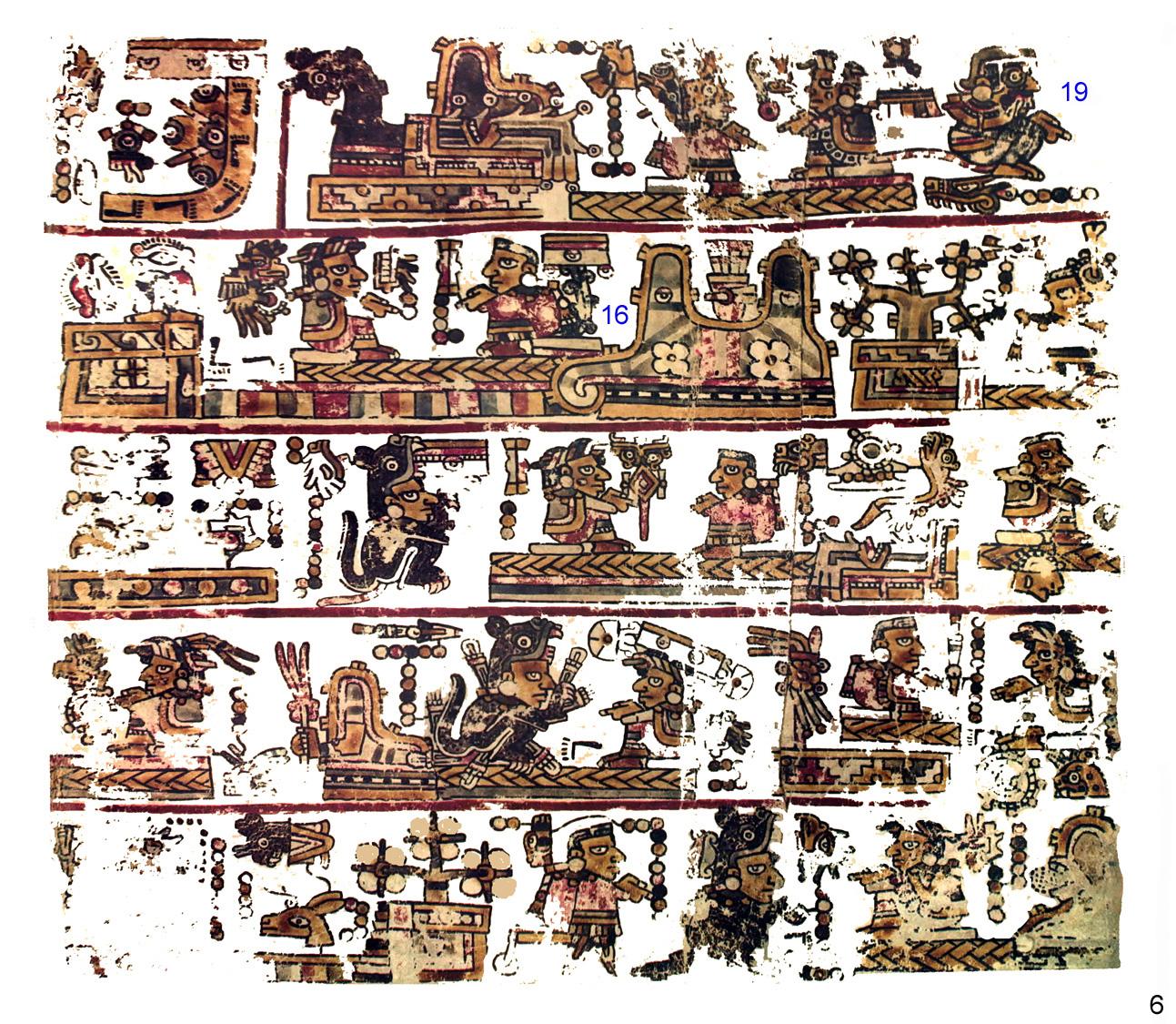 FAMSI - John Pohl's - Ancient Books - Mixtec Group Codices - Codex