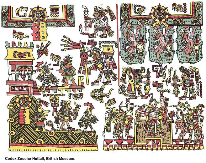 Image - Codex Zouche-Nuttall, British Museum