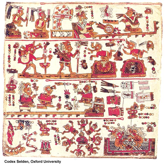 Image - Page from the Selden Codex, Oxford University