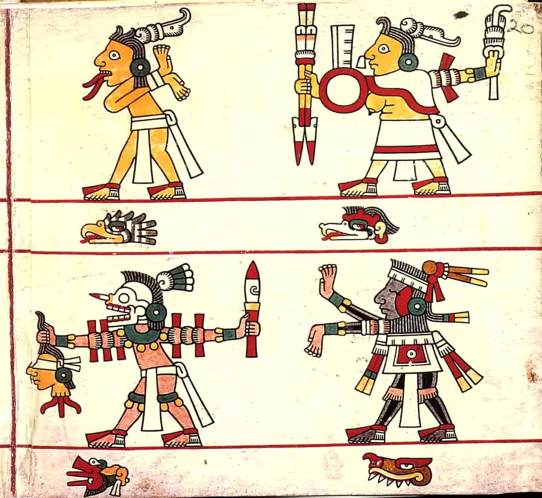 Aztec Codex Symbols for Pinterest